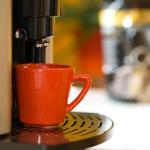 Eine Tasse Caf bitte?
